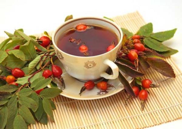 Рецепт чая с боярышником и шиповником
