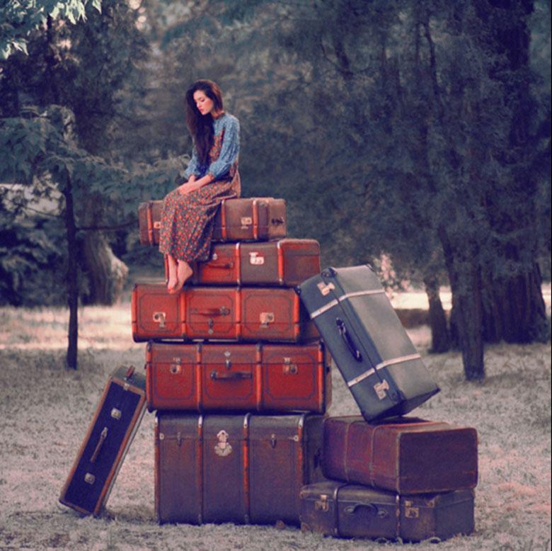 брасывания старого багажа