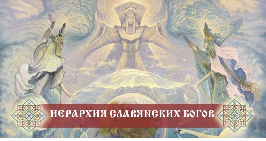 иерархия славянских богов