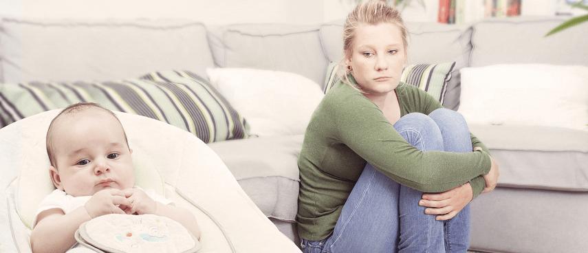 Как преодолеть послеродовую депрессию