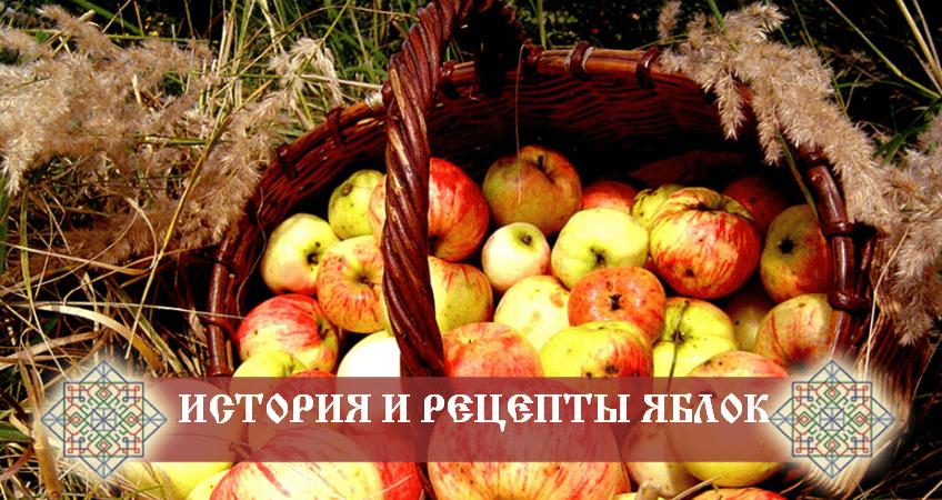 приготовление блюд из яблок
