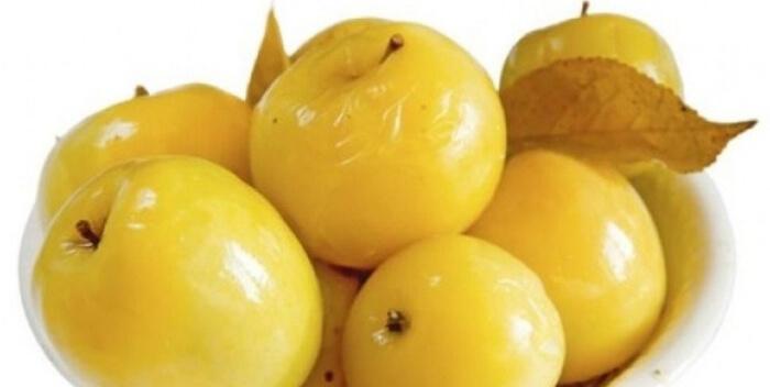 квашеные яблоки. Приготовление блюд из яблок