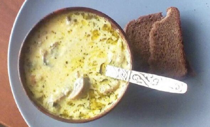 суп на праздник