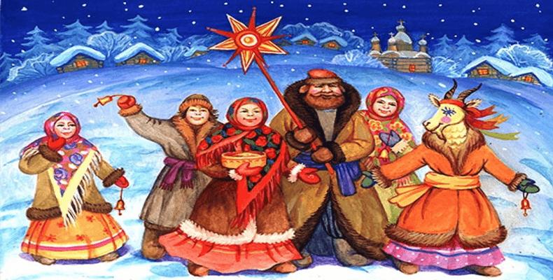 коляда. Как на Руси встречали новый год