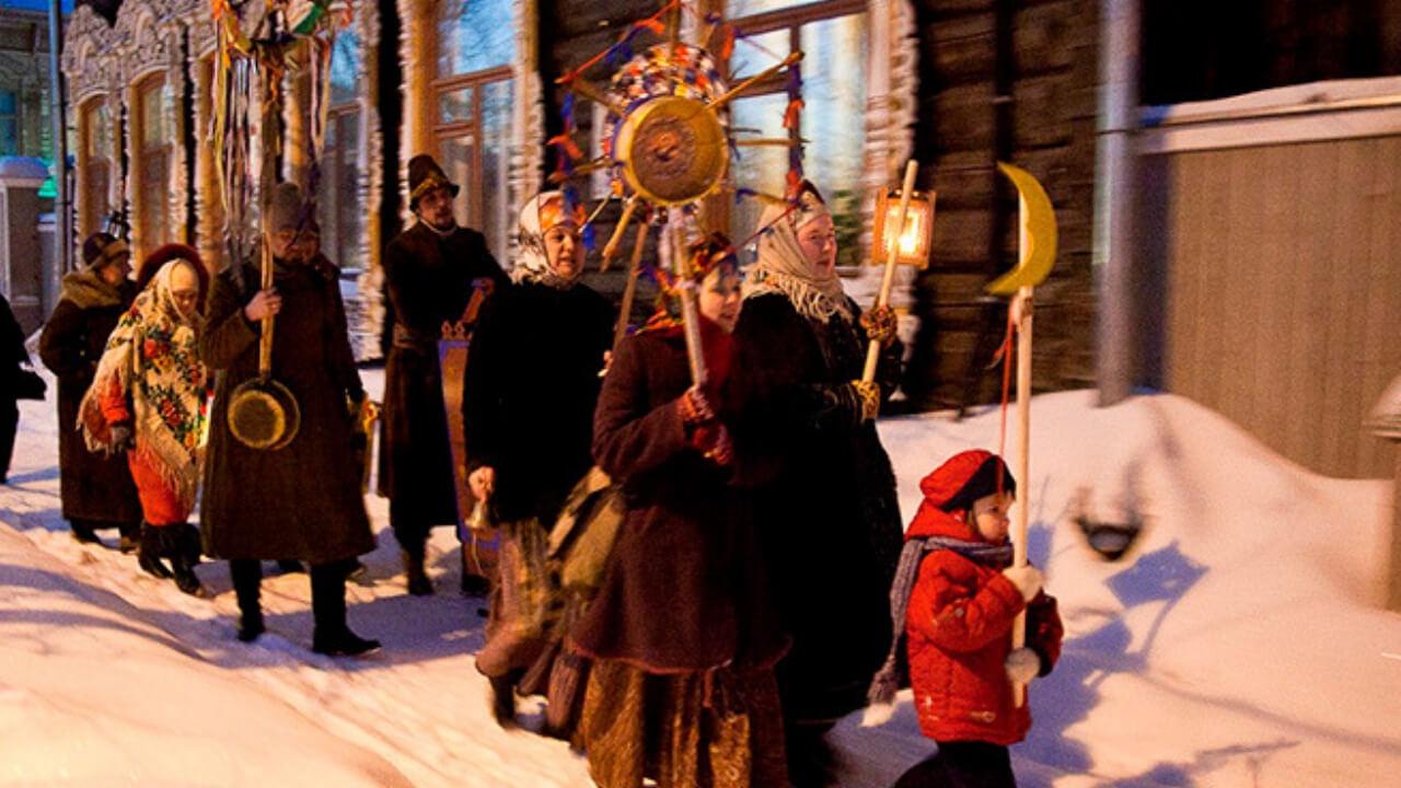 Святки и праздник Водокрестия