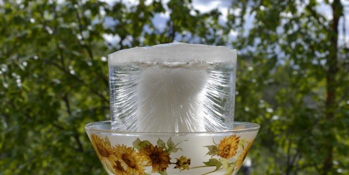 очищение воды замораживанием